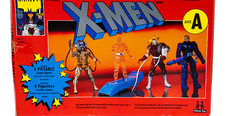 Marvel 4 Pack of X Men Action Figures