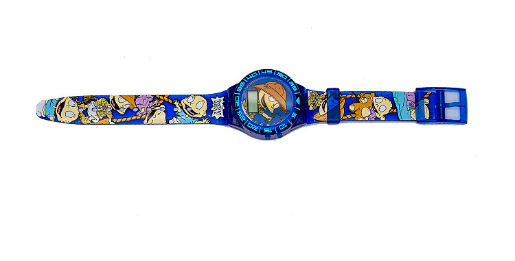 Retro Watches The RugRats Movie Watch Buger King