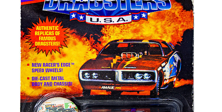 Johnny Lightning Car Dragsters USA 92 L.A.P.D.