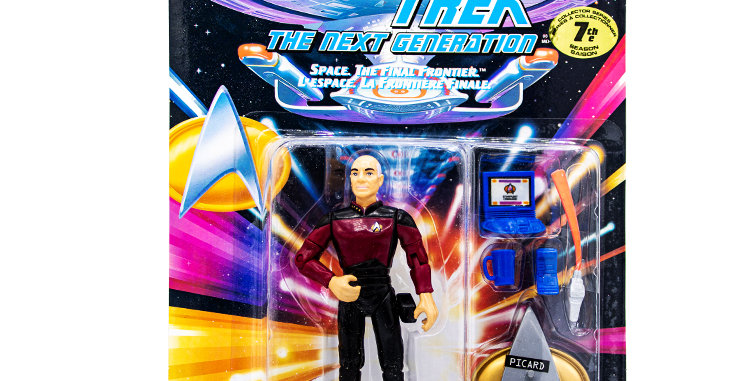 Star Trek Action Figure Picard Playmates Toy