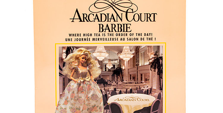 Barbie The Bay Arcadian Court Barbie Hudson's Bay Department Stores