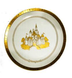 Disneyland plate 1970s