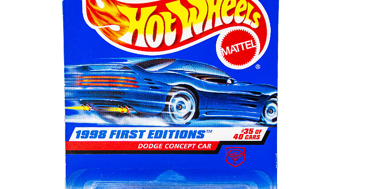 Hot Wheels  1998 First Editions Dodge Concept Car