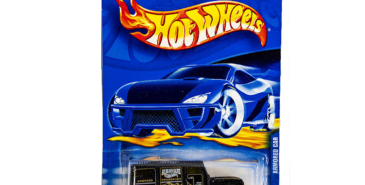 Hot Wheels Armoured Car marked 2000