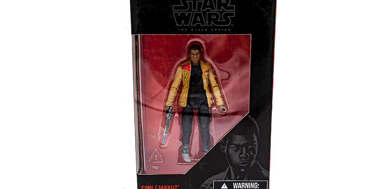 3.75 inch Finn Jakku The Black Series
