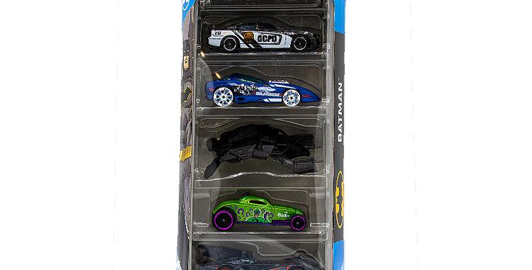 Hot Wheels Batman Batmobile set of 5 Cars