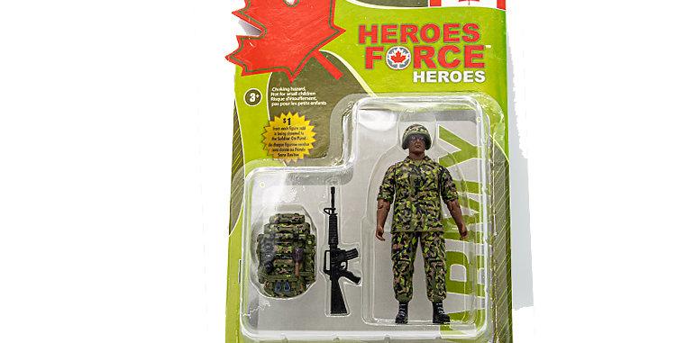 Action figure Canadian RCR