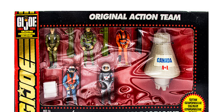GI Joe 3.75  Inch Original Action Team Playset
