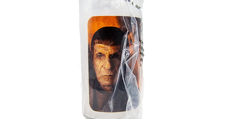 Star Trek Movie Glass Mr Spock