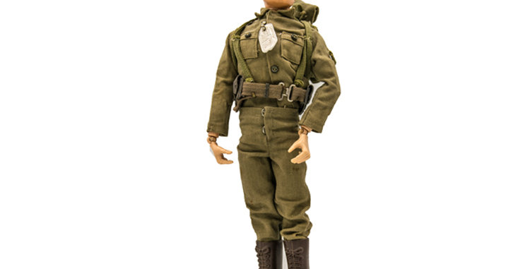 GI Joe Vintage Action Soldier with Backpack
