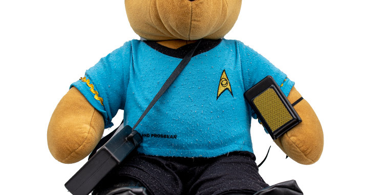 Star Trek North American Bear Company BEAR TREK -MR SPOCK