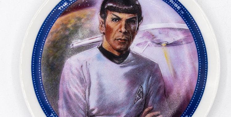 Star Trek Spock Mini Plate