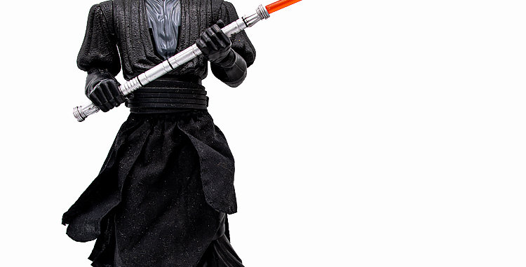 Star Wars 12 Inch  Darth Maul Action Figure Incomplete