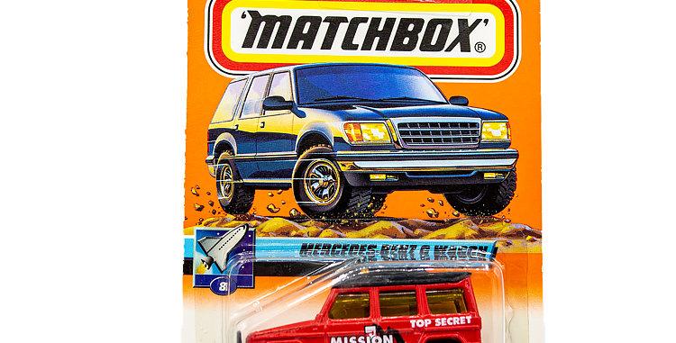 Matchbox Cars Mercedes-Benz G Wagon Marked 1999