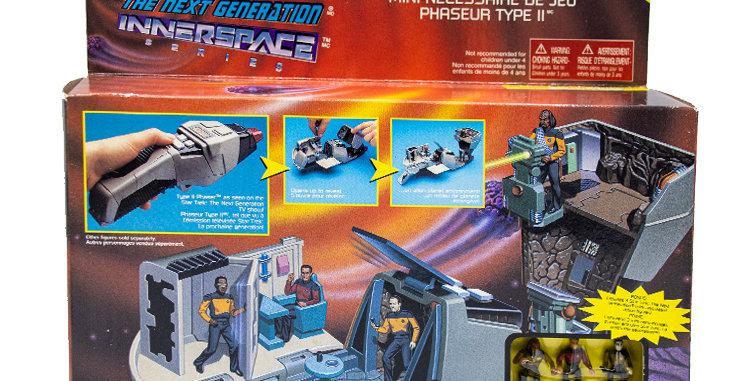 Star Trek Inner Space Next Gen Phaser Playmates Toy