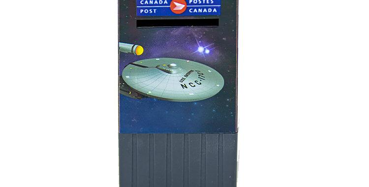 Canada Post Star Trek Stamp Dispenser