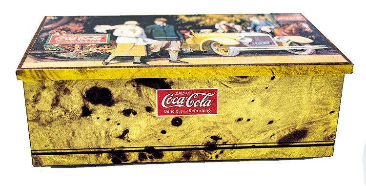 Coca Cola Coke Tin Box