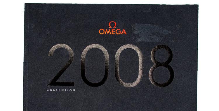 Retro Watches Omega Hard Cover Catalog 2008