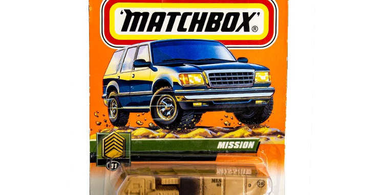 Matchbox Cars Mission Marked 1999