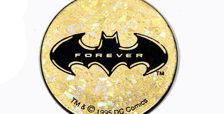 Batman Forever Pogs Slamer from 1990