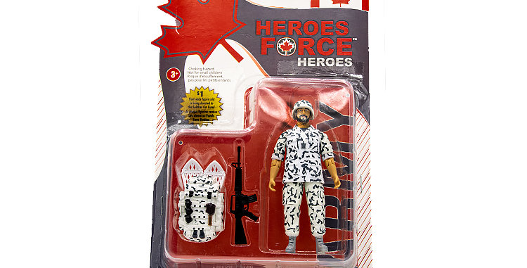 Action figure Canadian JTF2