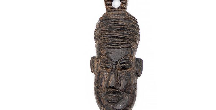 copy of Native Mask Wood Small Pendant Ornament