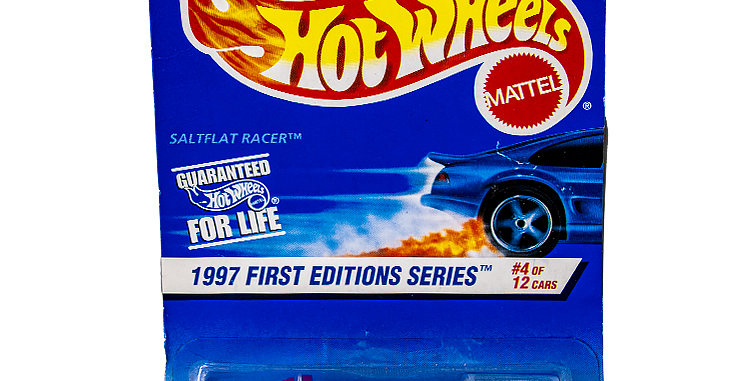 Hot Wheels 1997 First Editions  Salt Flat Racer