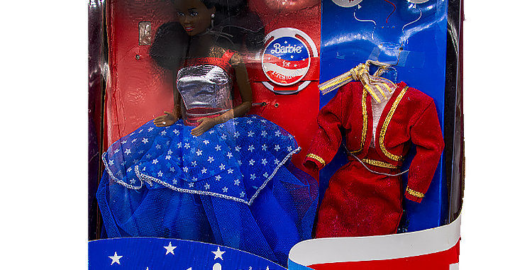 Barbie For President - Afro-American