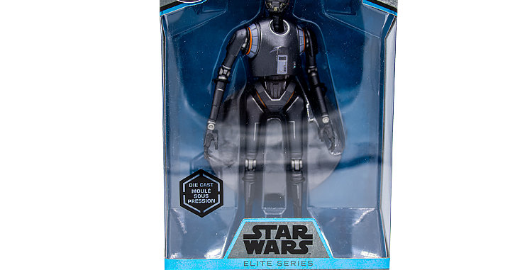 Elite Series Die Cast Blue K-250 Droid