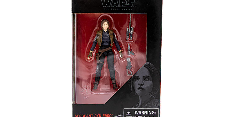 3.75 inch Sargeant Jyn Erso The Black Series