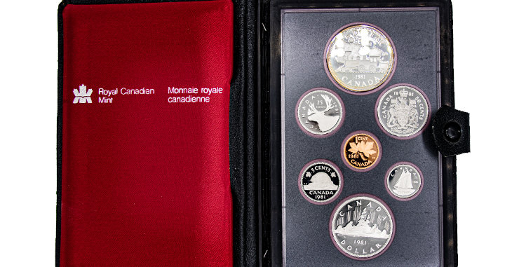 Canada Mint Coin Set 1981