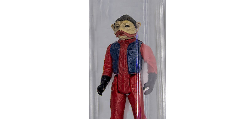 copy of Star Wars Vintage 3.75 Inch  Nien Nunb Incomplete in good condition