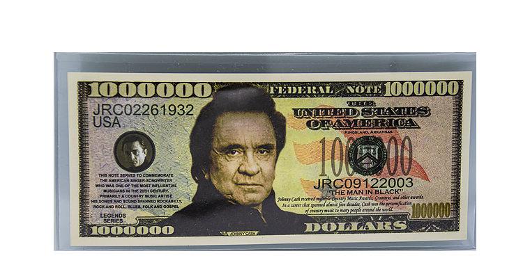 Johnny Cash Million Dollar Bill