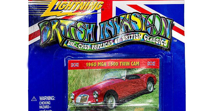 Johnny Lightning Car British Invastion 1960 MGA 1500