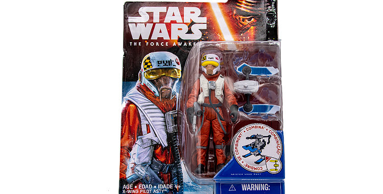 3.75 inch X-wing Pilot The Force Awakens