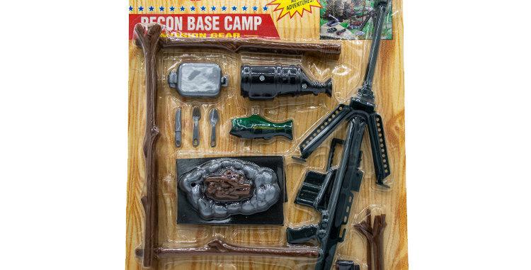 GI Joe Modern Classic Collection Recon Base Camp