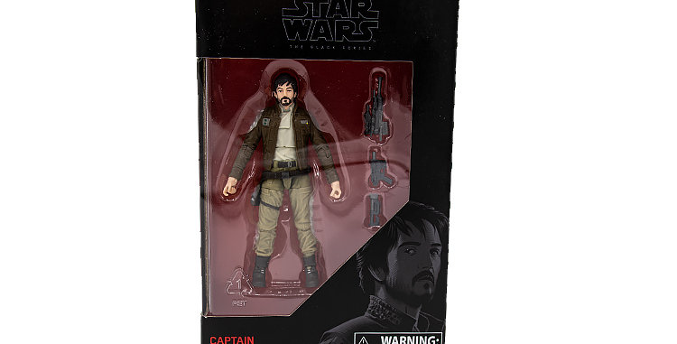 3.75 inch Captain Andor The Black Series