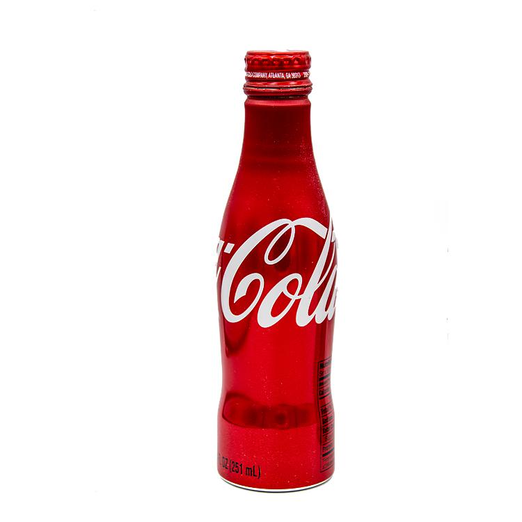 Coke Coca Cola Bottle Regilar Coke Alumi