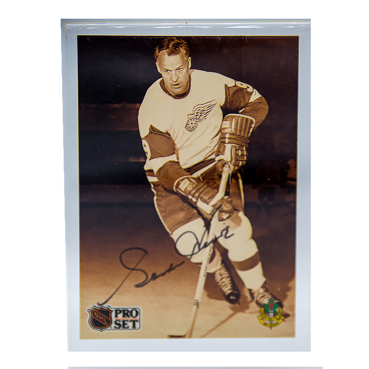 Autograph of Gordie Howe A 1