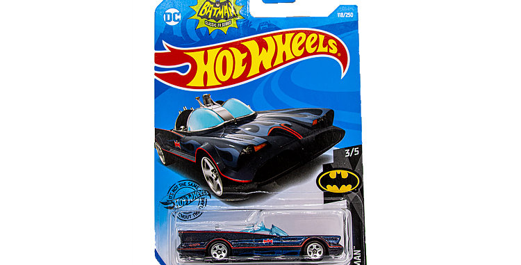 Batman Hot Wheels Classic TV Batmobile