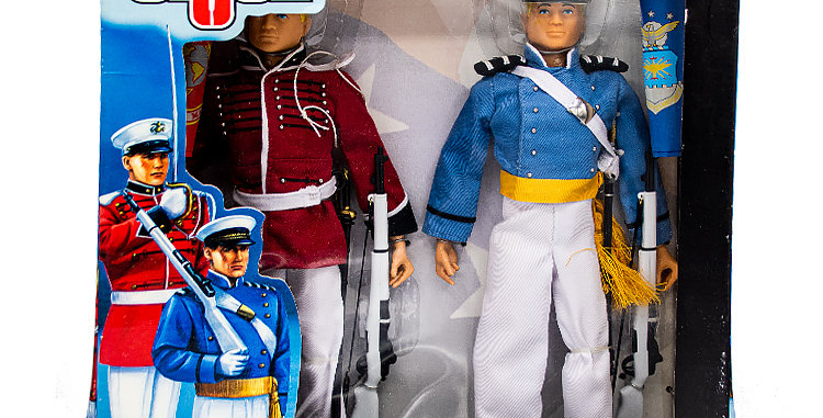GI Joe Timeless Collection 12 In Airforce Cadet & American Cadet Alliance Marine