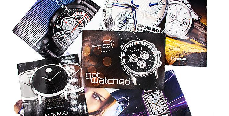 Retro Watches 7  Catalog Brochures circa 2010