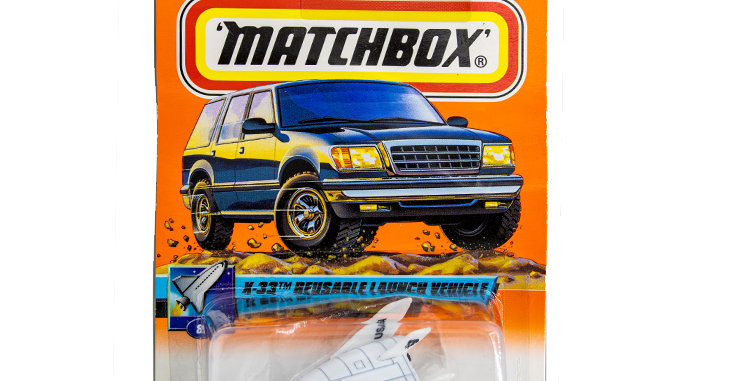 Matchbox Cars  X33 Reusable Launch Vehicle Marked 1999