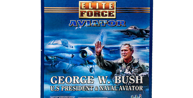 Elite Force 12 Inch George W Bush US President and Naval Aviator
