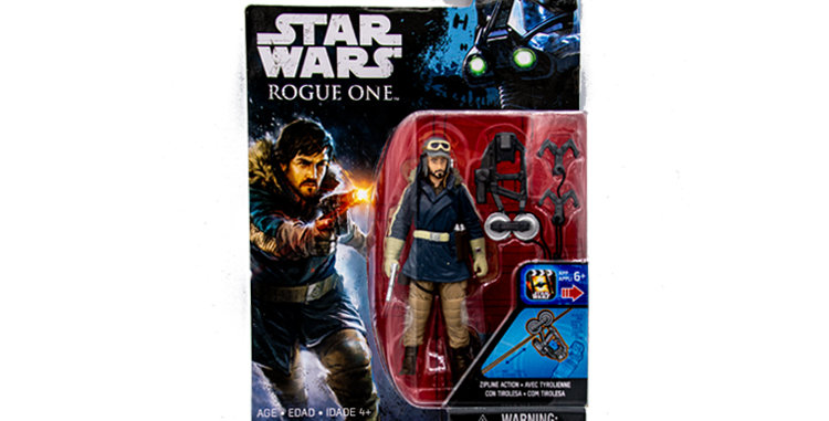 3.75 Inch Captain Cassian Andor Rouge One