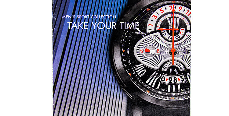 Retro Watches Tourneau Hard Cover Catalog circa 2010