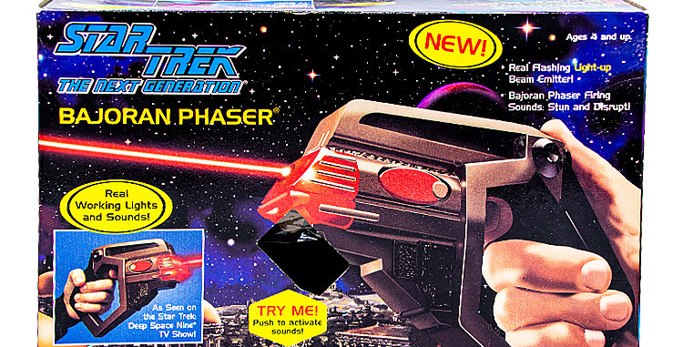 Star Trek the Next Generation Prop Bajoran Phaser
