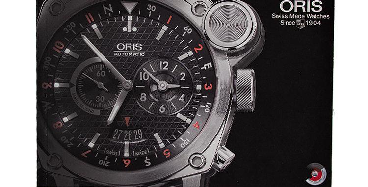 Retro Watches Oris Hard Cover Catalog circa 2010