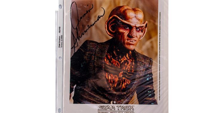 Autograph of Armin Shimerman who played Quark