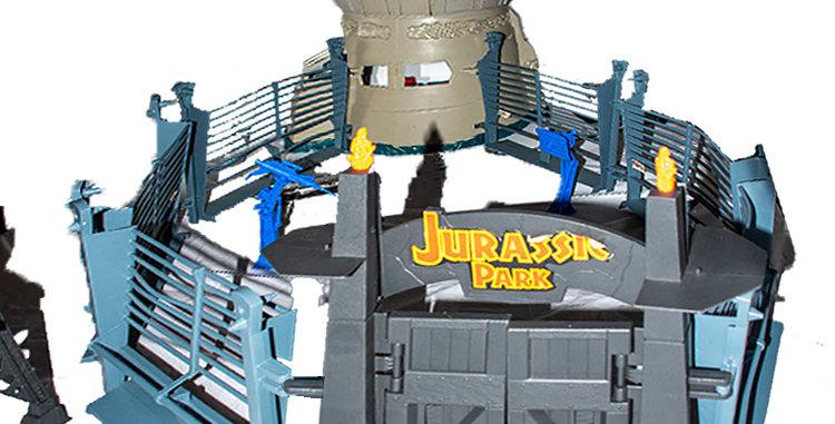 Sci-Fi Jurassic Park Command Compound